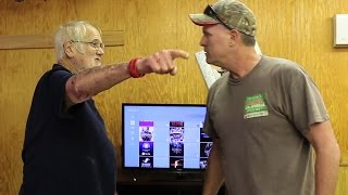 PSYCHO DAD VS ANGRY GRANDPA!