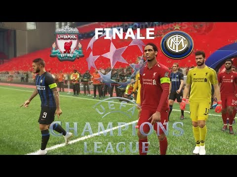 Liverpool Vs Inter - Champions League (Finale) | PES 2019 Patch [Giù]