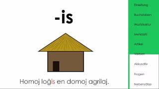 Die vollständige Esperantogrammatik in 7 Minuten erklärt. zum weiterlesen: https://de.wikipedia.org/wiki/Sprachaufbau_des_Esperanto ...