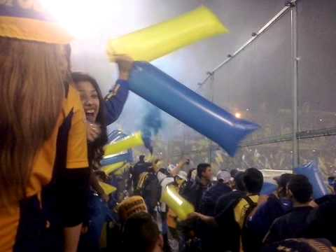 Video - Recibimiento Rosario Central Sudamericana 2014 - Los Guerreros - Rosario Central - Argentina