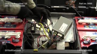 10. On Board Computer | How to Replace on Club Car Precedent Golf Cart | OBC