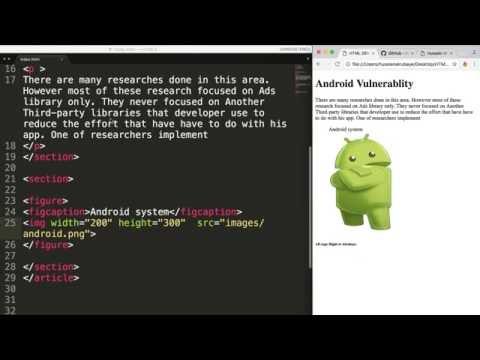 3- HTML5 || Nav and links