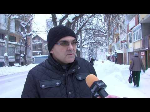 Снегопочистването на Враца