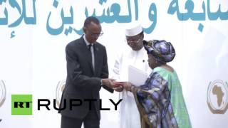 First African Union passports issued at Kigali summit