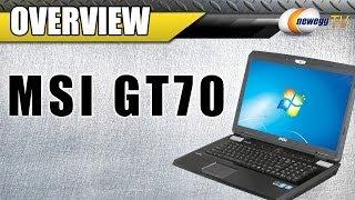 MSI GT Series GT70 Intel Core I7 4700MQ 1TB HDD 17.3