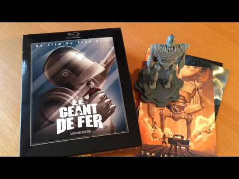 Unboxing : Le Géant De Fer -  Blu-ray Collector
