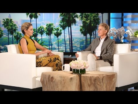 TheEllenShow - The brilliant actress has an interesting approach to choosing a place to live. She told Ellen about it.
