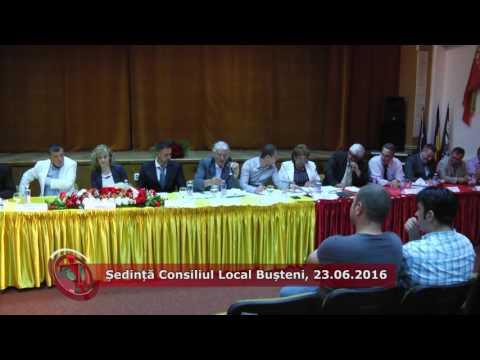 Emisiunea Proiecte pentru comunitate – Ședință Consiliul Local Bușteni – 24 iunie 2016