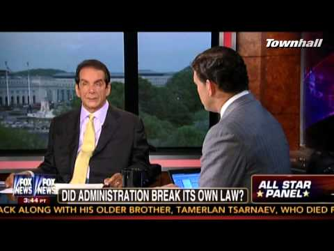 Krauthammer: Obama's 1st Goal Is To Hook Americans On Healthcare Heroin