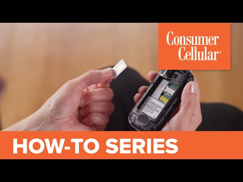 Consumer Cellular Envoy: Removing and Inserting the SIM Card (8 of 8) | Consumer Cellular