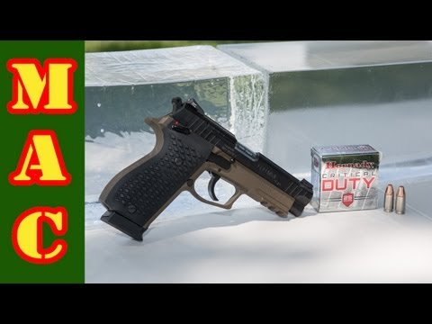 9MM - I carry the 9mm Critical Duty ammo from Hornady in my defensive pistol because of its claimed superior barrier penetration capabilities. I decided to put the...