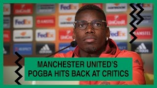 Man United midfielder Paul Pogba responds those who criticise his performances say he doesn't score enough goals. Subscribe to Goal: https://www.youtube.com/...