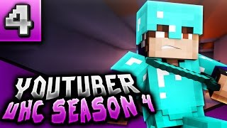 "Minecraft: YOUTUBER UHC - Season 4 - Ep. 4 ""OP SKELETON HORSE"""