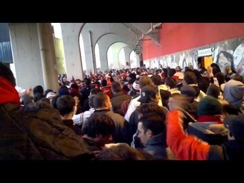 Video - Al millonario lo sigo a todos lado+decime boca - Los Borrachos del Tablón - River Plate - Argentina