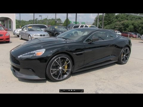 2014 Aston Martin Vanquish V12 Start Up, Exhaust, and In Depth Review