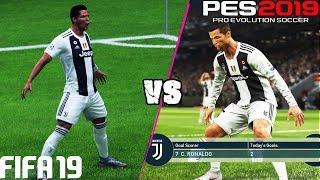 Video FIFA 19 vs. PES 2019: Celebrations | 4K MP3, 3GP, MP4, WEBM, AVI, FLV Oktober 2018