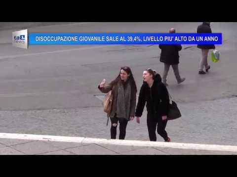 DISOCCUPAZIONE GIOVANILE SALE AL 39,4%, LIVELLO PIU' ALTO DA UN ANNO