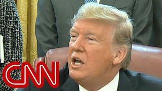 Video Trump gets testy with reporter over shutdown MP3, 3GP, MP4, WEBM, AVI, FLV Januari 2019