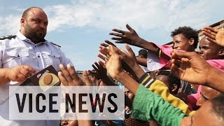 In a desperate bid to seek a better life in Europe, thousands of refugees and migrants leave the shores of Libya and cross the perilous Mediterranean Sea every ...