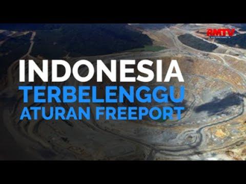 Indonesia Terbelenggu Aturan Freeport