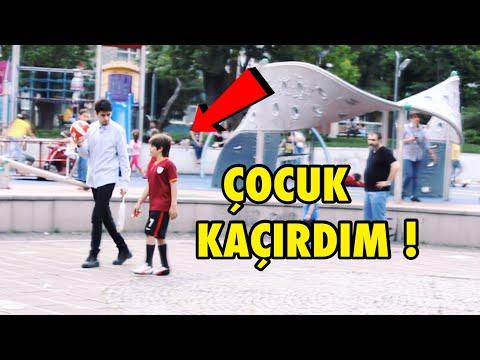 PARKTAN ÇOCUK KAÇIRMAK ! - SOSYAL DENEY