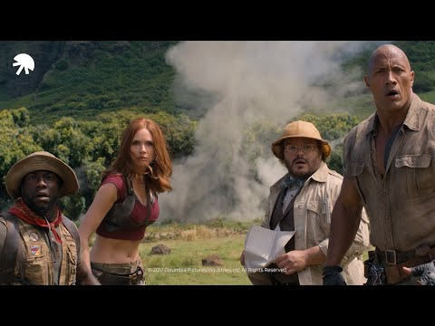 Jumanji - Welcome to the Jungle: Motorcycle assault