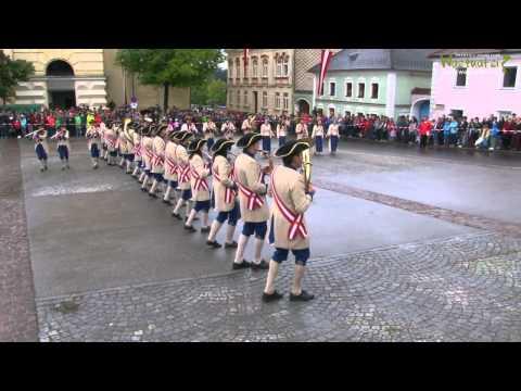 Marschwertung und Showprogramm des MV Schenkenfelden am 20.06.2015