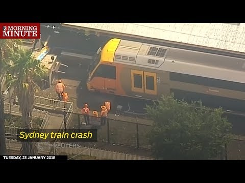 15 people were taken to hospital on Monday (January 22) after a train crashed into a barrier in the northwest of Sydney
