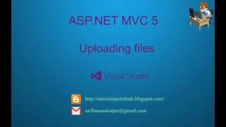 ASP.Net MVC5 - Uploading Files