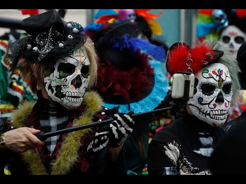 FIFA World Cup: Mexican 'Day of the Dead' festival rocks Moscow
