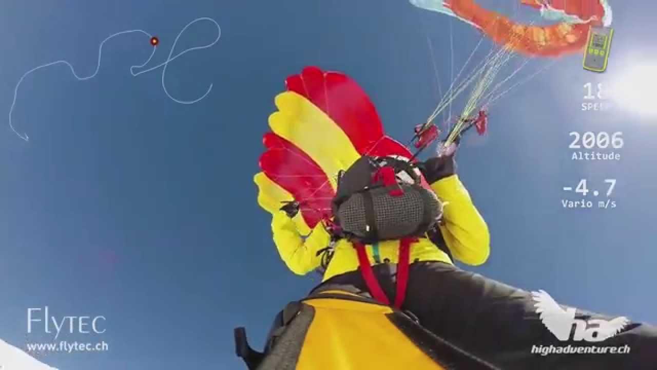 Prueba de paracaídas High Adventure Beamer3