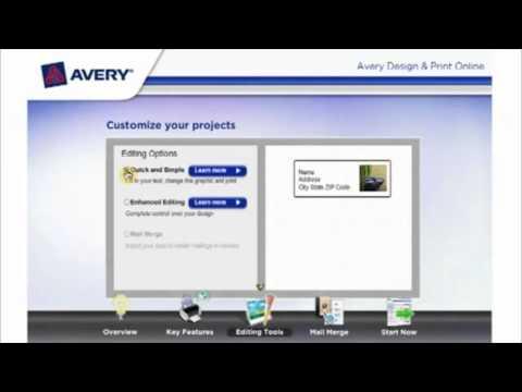 Software per creazione etichette Avery