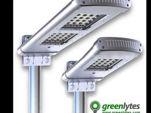 All in one LED Solar Street Lights | Solar Parking Lot Lights | Greenlytes