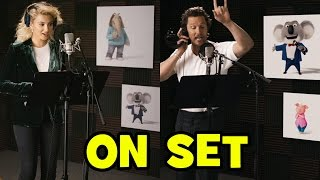 Go Behind The Scenes With SING Voice Cast Tori Kelly Matthew McConaughey Nick Kroll + TRAILERS