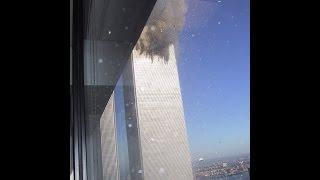 Единственное видео столкновения первого самолета с башней ВТЦ в Нью Йорке