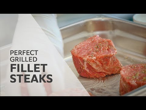 Recipe: Grilled Fillet Steak | RATIONAL SelfCookingCenter