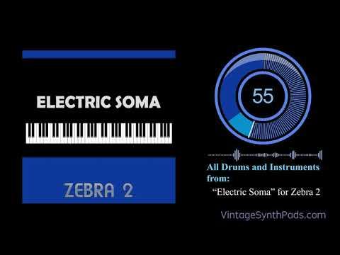 U-he Zebra - Electric Soma