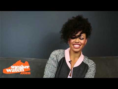 Pair - http://www.sneakerwatch.com/ - Known for her beautiful and soulful voice, the lovely Elle Varner was able to sit down with us to discuss some of her favorite kicks and what got her started....