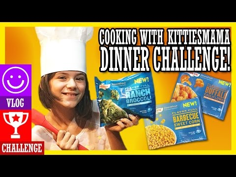 FAMILY COOK OFF! | DINNER CHALLENGE! Cooking With KITTIESMAMA!