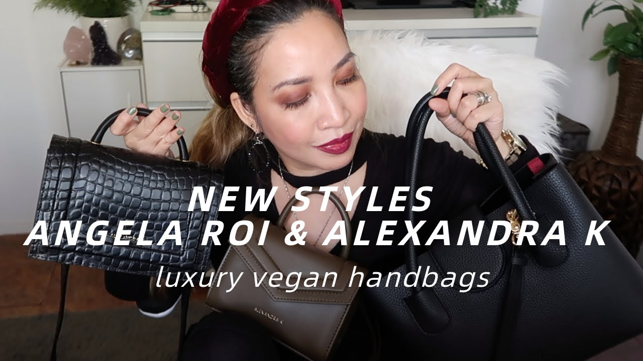 UNBOXING LUXURY VEGAN HANDBAGS | NEW STYLES FROM ANGELA ROI & ALEXANDRA K