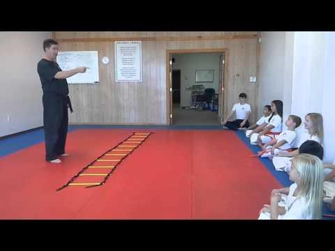 Hampton's Karate Academy - Class Instruction 02