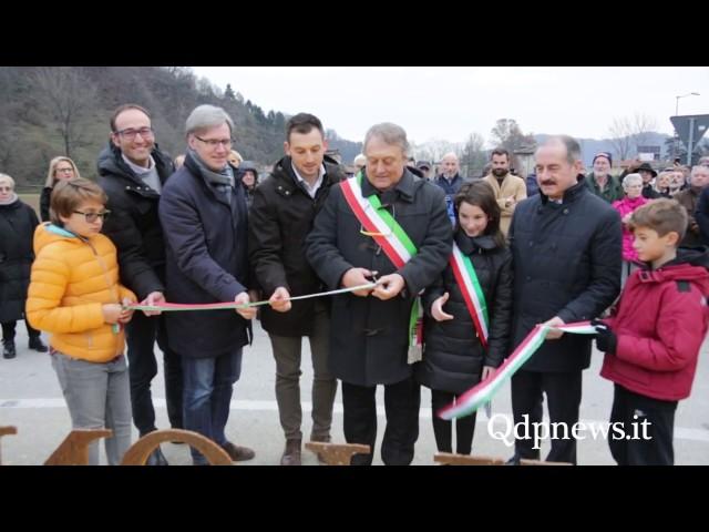 """3/12/16, Follina - Inaugurata """"Memoria e materia"""" l'opera di Valentino Moro"""