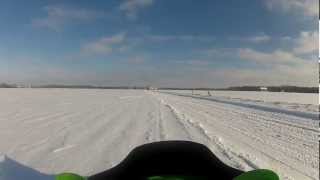 6. 105mph Flyby Arctic Cat Sabercat 700