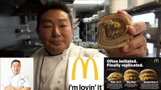 Will It Sushi? - Grand Mac, Big Mac & Mac Jr. All In One! by Diaries of a Master Sushi Chef