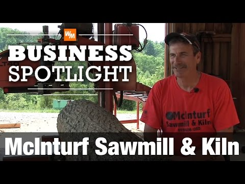 Gary shares how he found out about personal, portable sawmills only a few years ago, got hooked, and now runs his full time business from home. Gary owns a Wood-Mizer LT40 Hydraulic, Wood-Mizer blade sharpening equipment, a Wood-Mizer single-blade edger and a Wood-Mizer kiln.