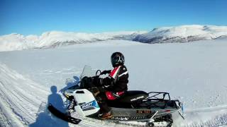 8. Trail riding Polaris Indy 2016 550 Voyageur and 2015 600 Voyageur