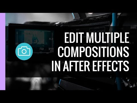 After Effects - Edit Multiple Composition Settings