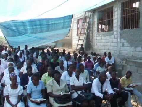 Séisme Haiti 12 janvier 2010 visite & aide Mission Biblique