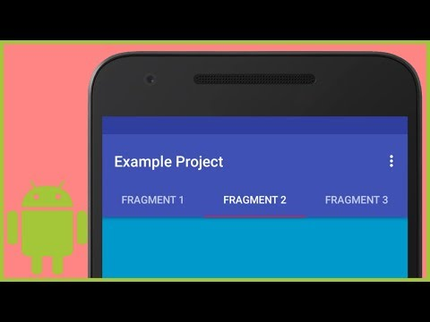 Tab Layout with Different Fragments - Android Studio Tutorial