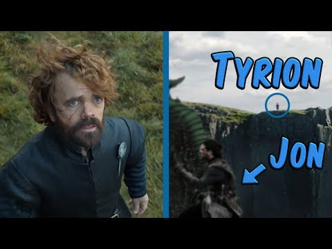 What Tyrion Is Really Looking At In The Season 7 Trailer!